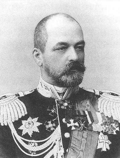 Адмирал русского флота Зиновий Рожественский