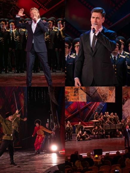 Концертная программа «Целый свет помнит их в лицо», посвященная 50-летию фильма «Офицеры»