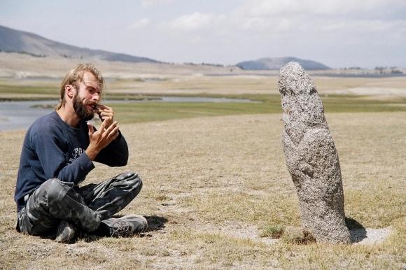 Разговор с предками. Баян-Улгий, Монголия. Фото: личный архив
