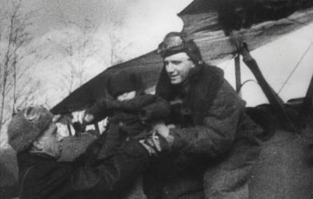 Александр Мамкин. Апрель 1944 г.