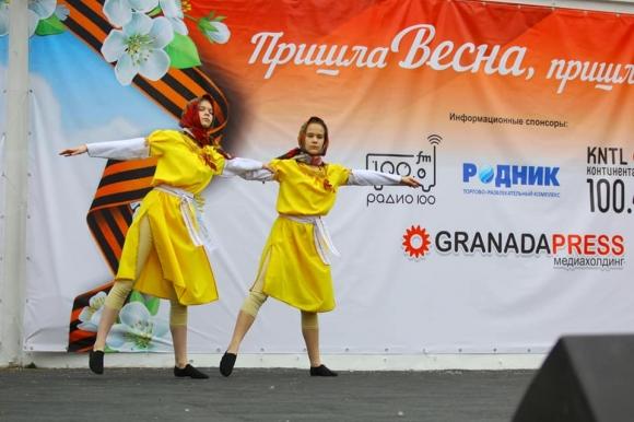 В Челябинске состоялся гала-концерт конкурса, посвященного 9 Мая