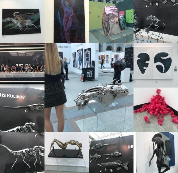Картинки с выставки Art Russia