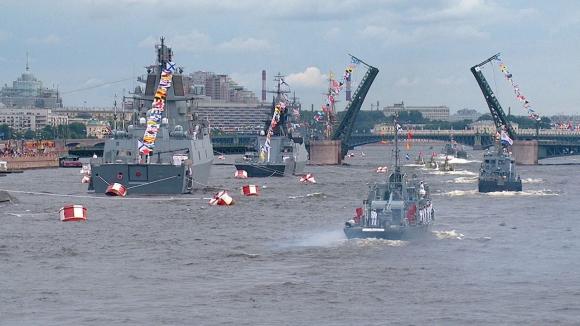 В Санкт-Петербурге и Кронштадте состоялся пятый Главный Военно-Морской Парад