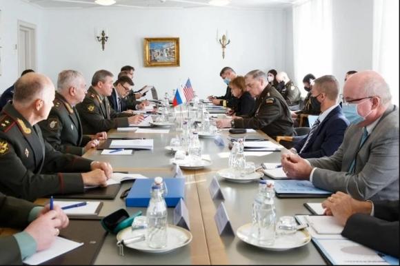 Валерий Герасимов и Марк Милли встретились в Финляндии и вероятно обсудили афганскую проблему