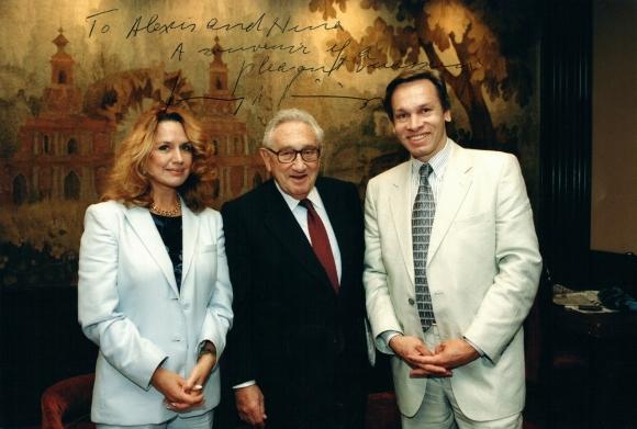 Встреча с Генри Киссинджером в Москве