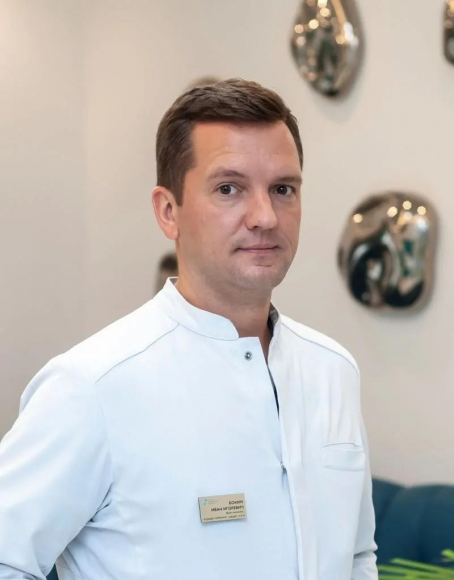 Бокин Иван Игоревич - кандидат медицинских наук, врач-акушер-гинеколог, хирург клиники НАКФФ Бокин Иван Игоревич