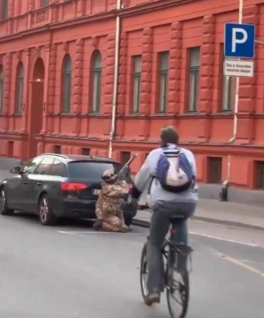 Латвия: во время военных учений произошла потеря