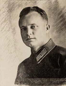 Фото Константина Игнатова; На фото: И.П. Парахин, комиссар подземного гарнизона