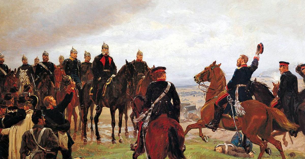 «Герой, упавший вниз». В 1866 году Людвиг фон Бенедек проиграл битву при Садовой, за что едва не получил суровое наказание